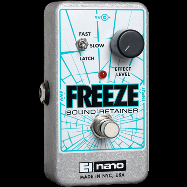 Electro-Harmonix Freeze [Sound Retainer][エレクトロハーモニクス][エレハモ][エフェクター]【G-CLUB渋谷】