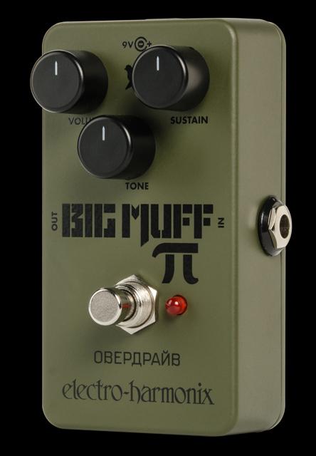 Electro-Harmonix Green Russian Big Muff [Distortion/Sustainer][エレクトロハーモニクス][エレハモ][エフェクター]【G-CLUB渋谷】