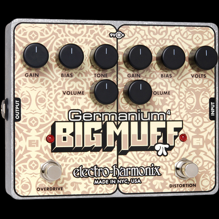 Electro-Harmonix Germanium 4 Big Muff Pi [Distortion/ Overdrive]【G-CLUB渋谷】