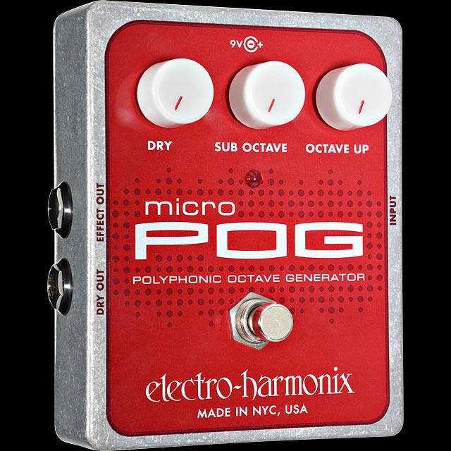 激安の Electro-Harmonix Micro POG Micro [Polyphonic Octave Electro-Harmonix Generator] POG【G-CLUB渋谷】, BRAND SHOP トーマス:064d3ef8 --- wap.pingado.com