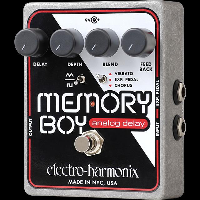 Electro-Harmonix Memory Boy [Analog Delay with Chorus/Vibrato]【G-CLUB渋谷】