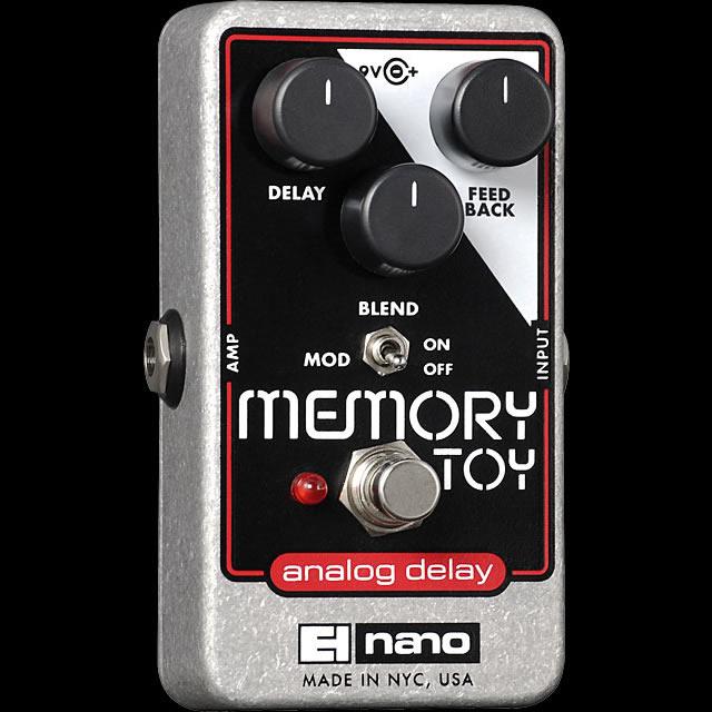 Electro-Harmonix Memory Toy [Analog Delay With Modulation]【G-CLUB渋谷】