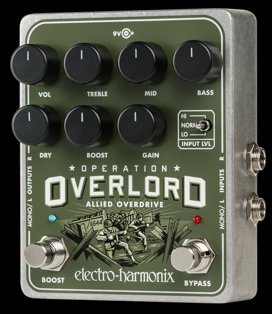 Electro-Harmonix Operation Overlord [Allied Overdrive]【G-CLUB渋谷】