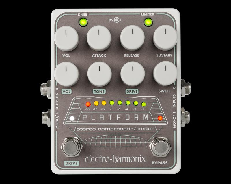 Electro-Harmonix Platform [Stereo Compressor / Limiter][エレクトロハーモニクス][エレハモ][エフェクター]【G-CLUB渋谷】