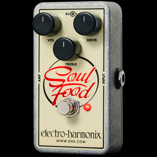 Electro-Harmonix Soul Food [Distortion/Fuzz/Overdrive][エレクトロハーモニクス][エレハモ][エフェクター]【G-CLUB渋谷】