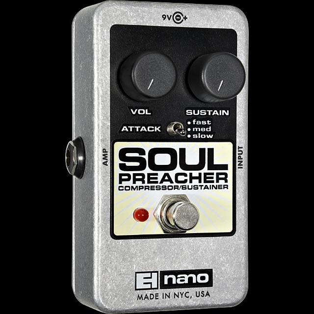 Electro-Harmonix Soul Preacher [Compressor/Sustainer][エレクトロハーモニクス][エレハモ][エフェクター]【G-CLUB渋谷】