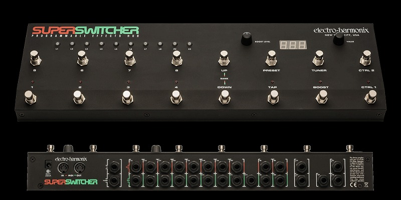 Electro-Harmonix Super Switcher [Programmable Effects Hub] [エレクトロハーモニクス][エレハモ][エフェクター]【G-CLUB渋谷】