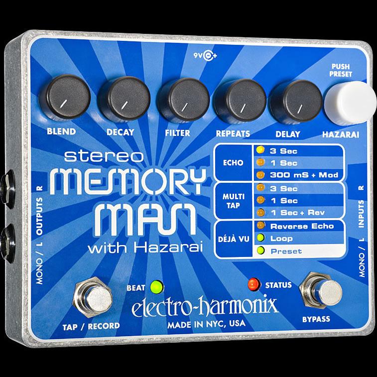 Electro-Harmonix Stereo Memory Man with Hazarai [Digital Delay/Looper]【G-CLUB渋谷】