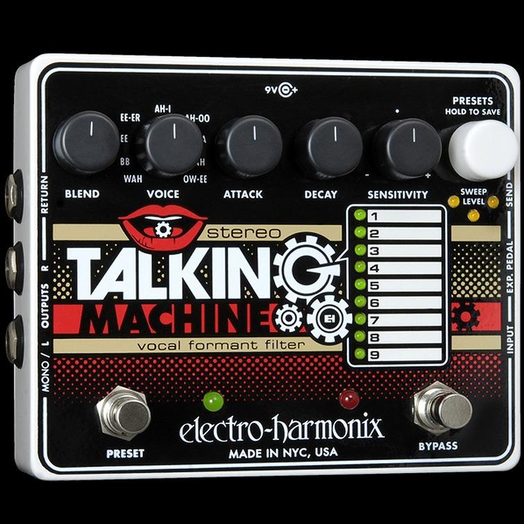 Electro-Harmonix Stereo Talking Machine [Vocal Formant Filter ] [エレクトロハーモニクス][エレハモ][エフェクター]【G-CLUB渋谷】