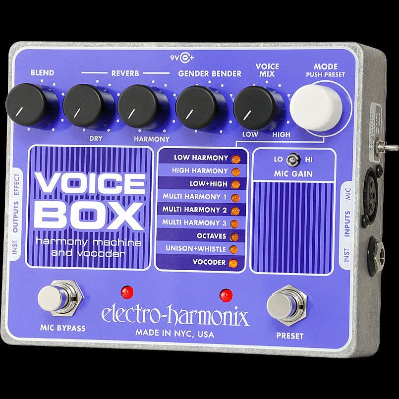Electro-Harmonix Voice Box [Vocal Harmony Machine/Vocoder][エレクトロハーモニクス][エレハモ][エフェクター]【G-CLUB渋谷】