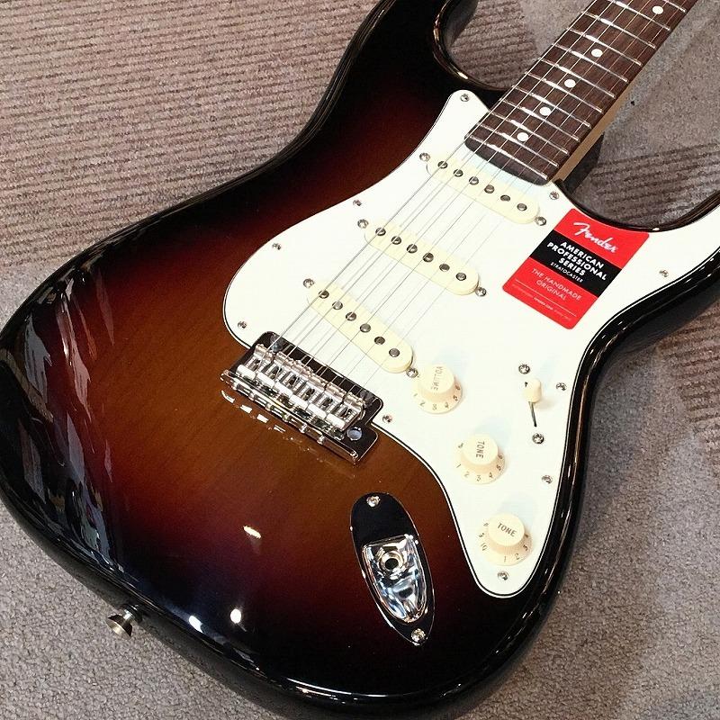 Fender American Professional Stratocaster Sunburst #US18023298 ≒3.4kg 【G-CLUB渋谷】