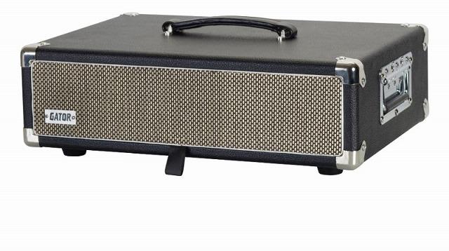 当店限定販売 ゲイター レトロラックシリーズ 2Uサイズ GR-RETRORACK-2BK Vintage Amp G-CLUB渋谷 送料無料 ブラック 特価 ラックケース 2U Vibe