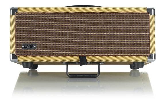 国内正規品 ゲイター レトロラックシリーズ 爆安 3Uサイズ GR-RETRORACK-3TW Vintage Amp G-CLUB渋谷 Vibe ツイード 送料無料 ラックケース 3U