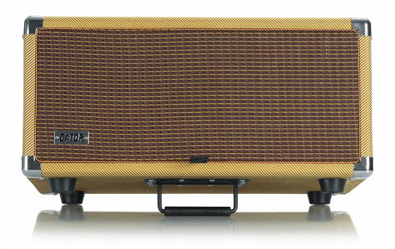 新作からSALEアイテム等お得な商品 満載 ゲイター レトロラックシリーズ 4Uサイズ GR-RETRORACK-4TW Vintage Amp G-CLUB渋谷 Vibe 送料無料 在庫あり 4U ツイード ラックケース
