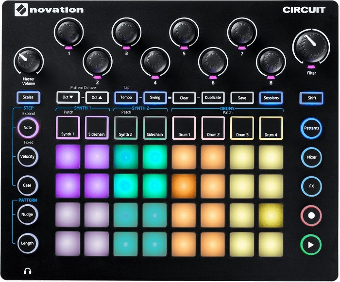Novation Circuit Mono Station 【パラフォニック・シンセサイザー】【送料無料】【G-CLUB渋谷】