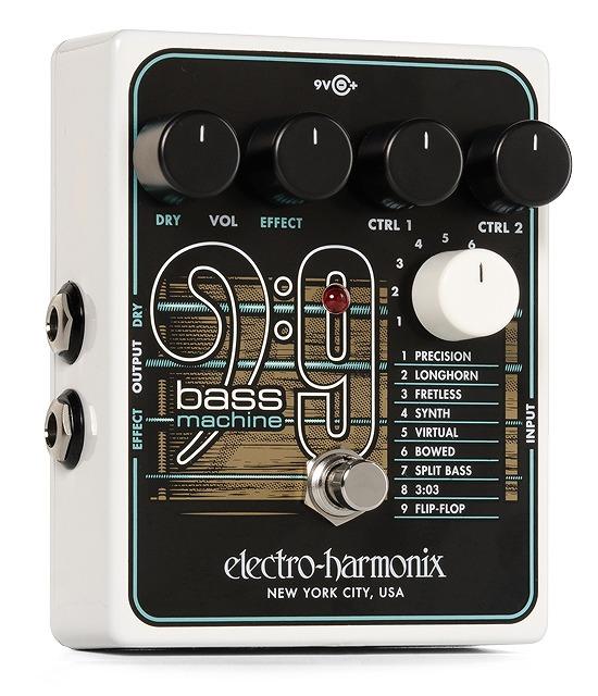 【大感謝祭期間限定ポイント5倍】Electro-harmonix BASS 9 [Bass Machine] 【G-CLUB渋谷】