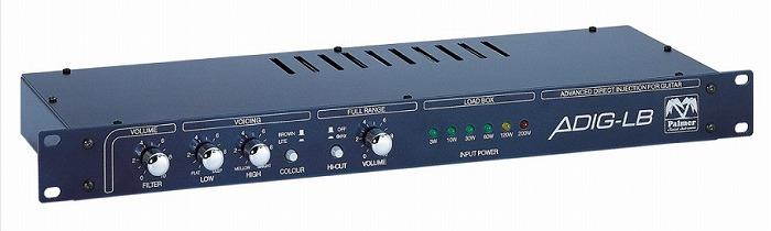 【ポイント5倍1/5まで】Palmer PGA04(8ohm) ADIG-LB Mono Speaker Simulator / Load Box 【G-CLUB渋谷】