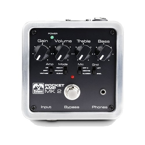 Palmer Pocket Amp MK2 Portable Guitar Preamp with DI-Out 【G-CLUB渋谷】
