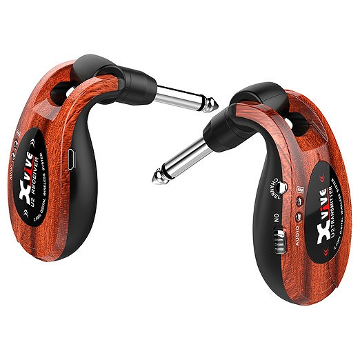 【お買い物マラソンセール】Xvive XV-U2/W ウッド Wireless Guitar System 【限定カラー】【G-CLUB渋谷】