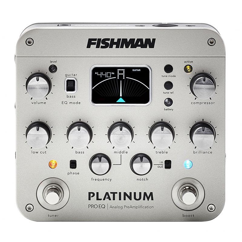 Fishman Platinum Pro EQ [PRO-PRT-201] 《アコースティックギター用プリアンプ/DI/エフェクター》 【送料無料】【Dr.Sound】