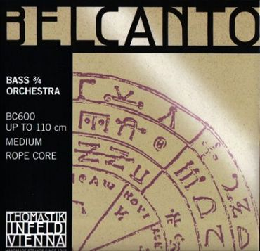 Belcanto (ベルカント) コントラバス弦 セット BC600【ONLINE STORE】