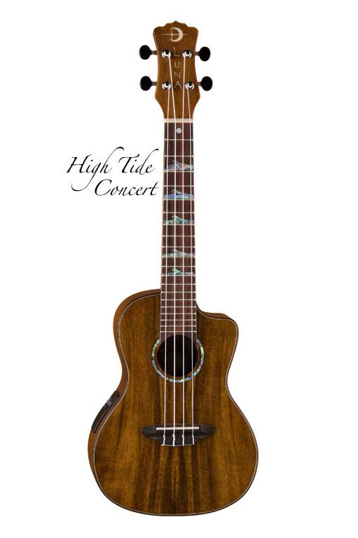 Luna Guitars High Tide Concert Koa [UKE [UKE High HTC Concert KOA] 《コンサートウクレレ》【送料無料】【ONLINE STORE】, グリーンヒナタActivity:f4665c3d --- data.gd.no