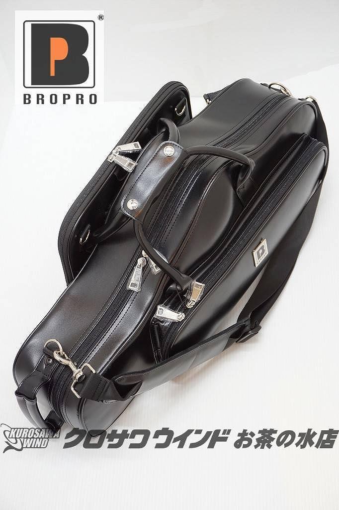 BROPROブロプロ W700CTLBK 新品 希少 ディスカウント レザーブラック アルトサックスケース クロサワウインドお茶の水