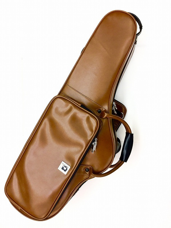 "BROPRO W701CTL ""Brown Leather"" テナーサックスケース【新品】【サックス専門店】【サキソフォン・ラボ在庫品】"