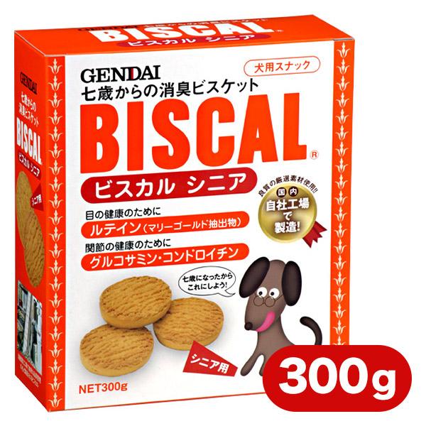 現代製薬 ビスカル シニア 300g 【ドッグフード/犬用おやつ/犬のおやつ・犬のオヤツ・いぬのおやつ/DOG FOOD/ドックフード】
