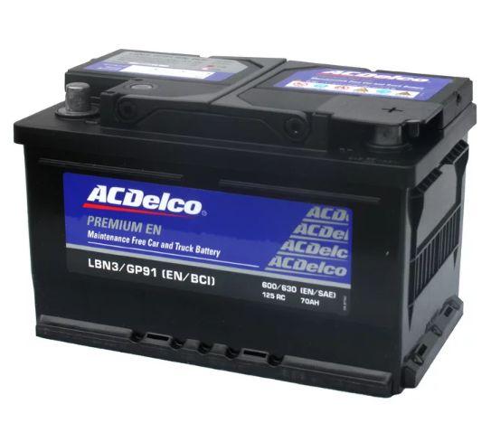 ACデルコ 欧州車用バッテリー LBN3 新品 送料無料(一部のエリアを除く)
