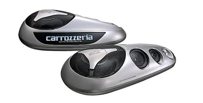Pioneer/Carrozzeria(パイオニア/カロッツェリア)スピーカー≪密閉式4ウェイスピーカーシステム≫【TS-X480G】新品 お取り寄せ商品 送料無料(一部のエリアを除く)