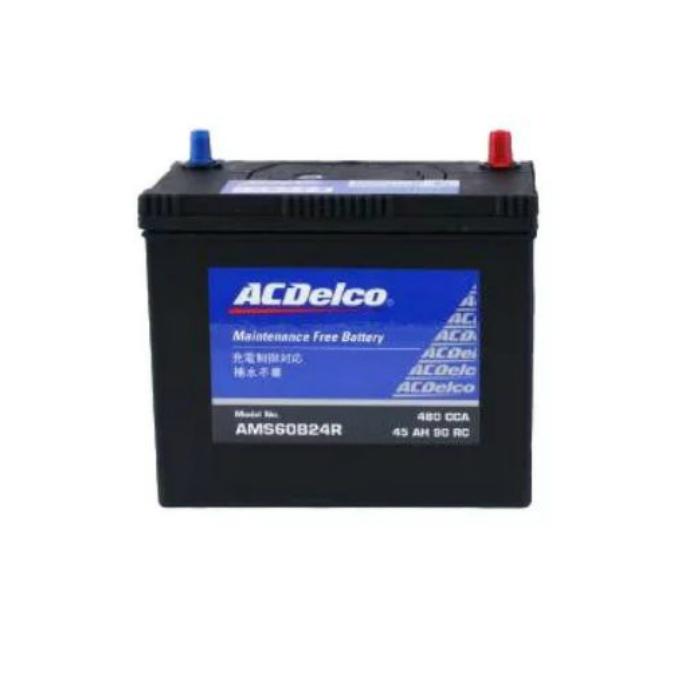 AC Delco(デルコ) 国産車用発電制御車対応バッテリー 新品 AMS60B24R 送料無料(一部のエリアを除く)