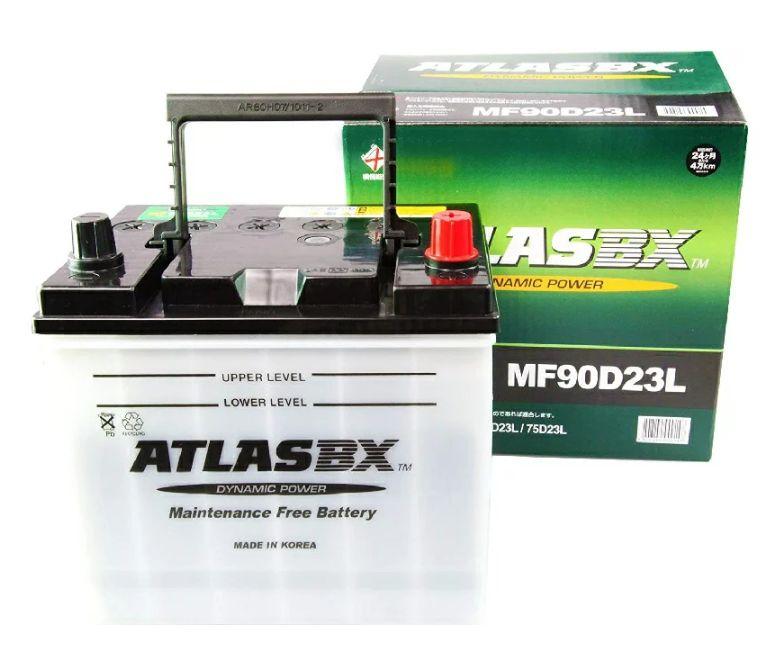 ATLAS(アトラス) BX 国産車用バッテリー JIS規格 新品 オープンベント型 (MF)90D23L お取り寄せ 送料無料(一部のエリアを除く)