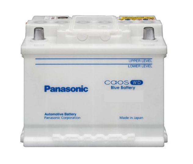 パナソニック カオス ブルーバッテリー N66-25H/WD 欧州車用バッテリー 新品 送料無料(一部のエリアを除く)