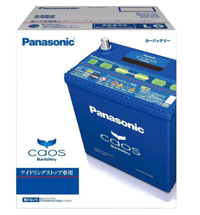 Panasonic(パナソニック)バッテリー CAOS(カオス)≪アイドリングストップ車用≫【N-T115/A3】新品 送料無料(一部のエリアを除く)