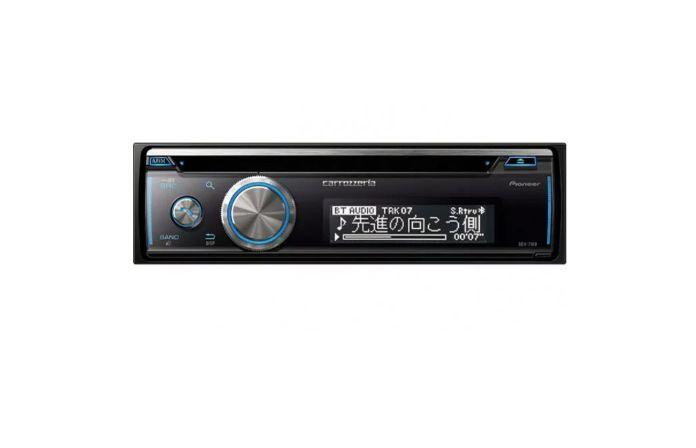 パイオニア カロッツェリア  Bluetooth/CD/USB/ 1DIN AVメインユニット DEH-7100 新品 お取り寄せ商品 送料無料(一部のエリアを除く)