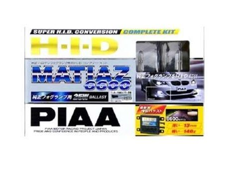 PIAA(ピア)HID 純正フォグランプ用コンプリート マティアス6600 車検対応【HH224SB】 新品