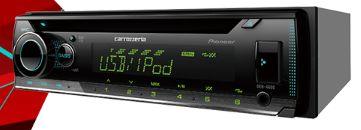 パイオニア /PIONEER/カロッツェリア≪カーオーディオ 1DIN CD/USB≫【DEH-4600】新品 送料無料(一部エリアを除く)