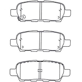 激安通販 MD-306M 海外輸入 日本製 信頼のミヤコ自動車工業製 ブレーキパット ミヤコ製ディスクパッド4枚1組 Miyaco 代表車種:エクストレイル Disk Pads 型式:T30