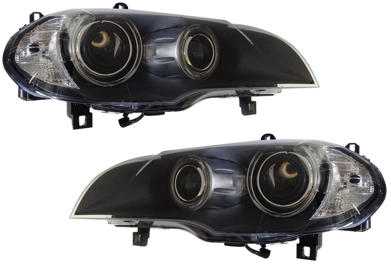 BMW X5 E70 3.0d 3.0sd 3.0si 4.8i/HELLA製 バイキセノンヘッドライト左右セット新品