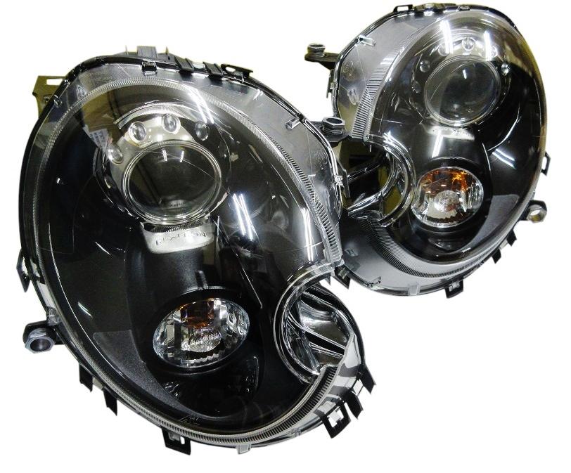 【送料無料】BMW ミニ MINI R55 R56 R57/カムデン仕様 バイキセノンヘッドランプ新品(63127269991-63127269992)