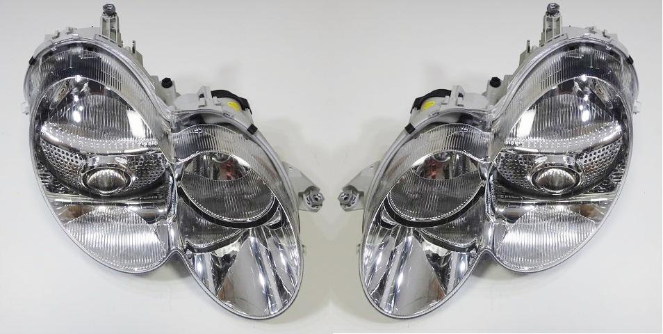 ベンツ R230 SLクラス (-08y) MAGNETI MARELLI製 バイキセノンヘッドライト(左右) (2308200159/2308200259)
