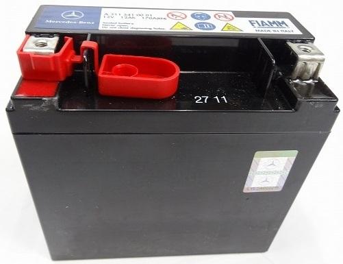 【送料無料】ベンツ W169 W204 W207 W211 W212 W219 W245/純正品 サブバッテリー新品 (2115410001)