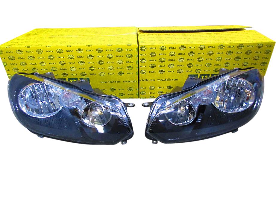 【送料無料/HELLA-純正OEM品】HELLA製 ハロゲンヘッドランプ左右セット(5K2941005H-5K2941006H)VW ゴルフ6 GOLF6(5K1)