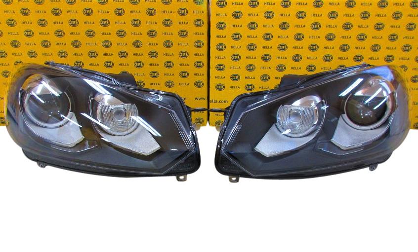 VW GOLF6 ゴルフ6 5K1 エステート AJ5 ガブリオレ 517/HELLA製 バイキセノンヘッドランプ左右セット バイキセノンヘッドライト左右セット 5K2941753B+5K2941754B