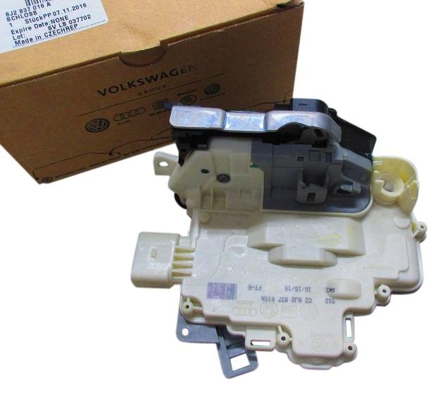 純正品 ドアロック アクチュエーター フロント 右側 右前 8J2-837-016A 8J2837016A/AUDI アウディ A4/S4/RS4 A5/S5/RS5 Q3/RSQ3 Q5/SQ5 Q7 TT/TTS/TTRS