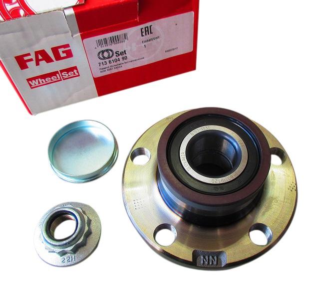 FAG リアハブベアリング ホイールベアリングキット 6Q0-598-611 6Q0598611/アウディ AUDI A1(8X1,8XK)A1 Sportback(8XA,8XF)A2(8Z0)VW フォルクスワーゲン ポロ POLO(6R,6C,9N,9A4)