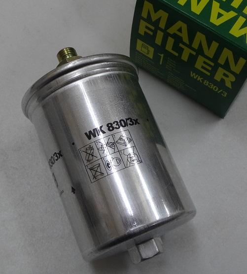 1年保証付き ベンツ W126 W140 R107 高品質 R129 W124 W201 本物◆ MANN製 WK830 0024774501 W463 W202 フューエルフィルター新品 燃料フィルター 3