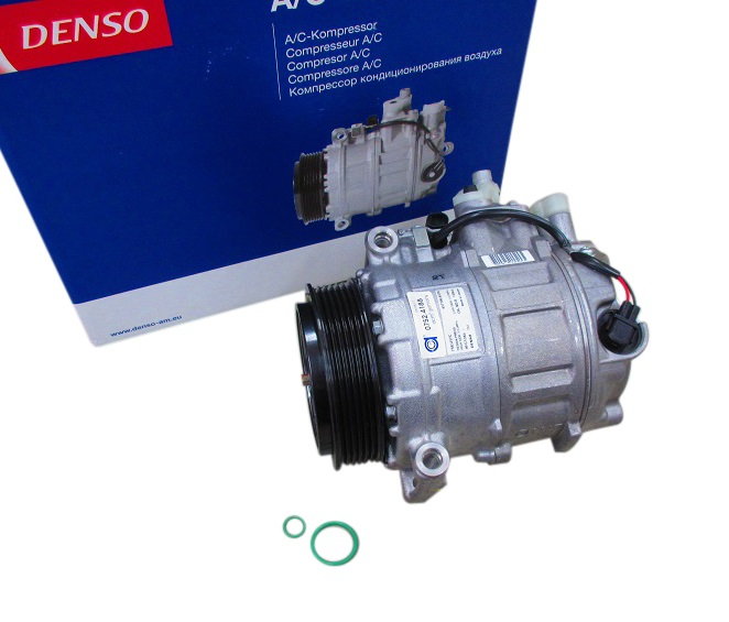 DENSO製 エアコンコンプレッサー(Oリング付き)新品/ベンツ W220 W215 R230 W203 W209 W163 W463 (0012302811)