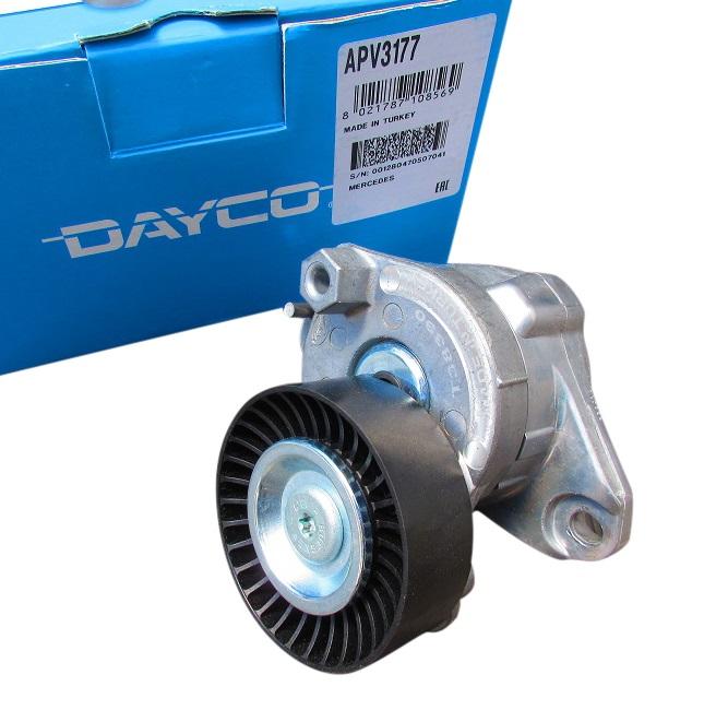 【代引き出荷可能!】DAYCO製 ベルトテンショナー (M156/ V8) ベンツ W221 W216 R230 W219 W211 W212 W204 W209 W164 W251 (1562000570/APV3177)